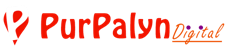 Logo of Purpalyn digital Dwarka